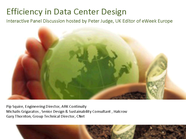 Efficiency In Data Center Design