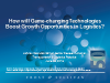 How will Game-changing Technologies Boost Growth Opportunities in Logistics?