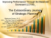 Improving Performance - Balanced Scorecard - Strategic Planning