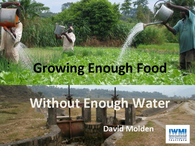 Growing Enough Food Without Enough Water
