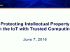Protecting Intellectual Property in the IoT with Trusted Computing