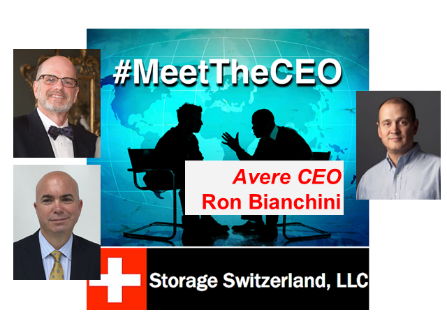 MeetTheCEO: Avere Systems' Ron Bianchini