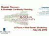 Disaster Recovery & Business Continuity Planning Workshop