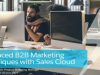Advanced B2B Marketing Techniques with Sales Cloud