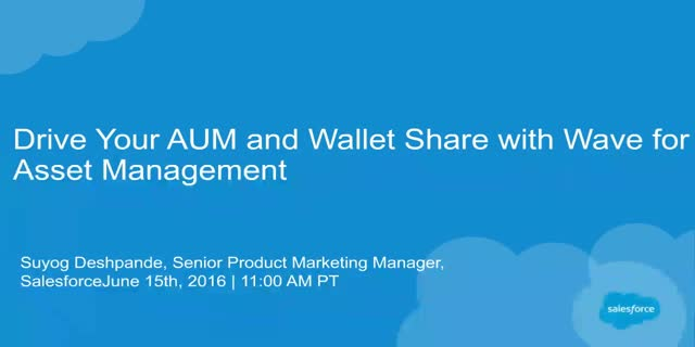 Drive Your AUM and Wallet Share with Wave for Asset Management