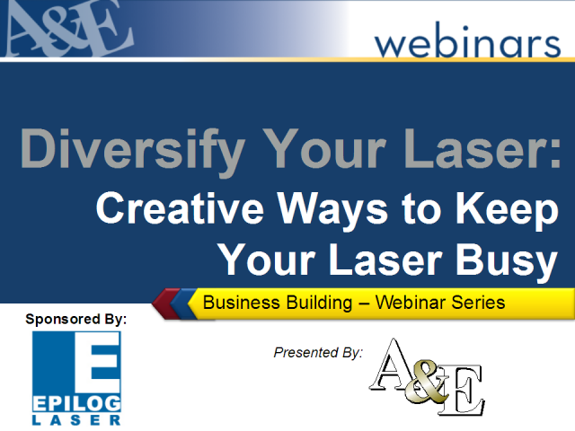 Diversify Your Laser: Creative Ways to Keep Your Laser Busy