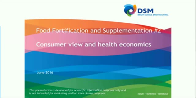 Food fortification part two: the economic benefits of nutrient-energy density
