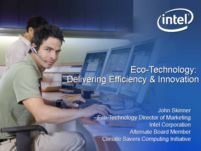 Eco-Technology: Delivering Efficiency and Innovation
