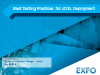Best Testing Practices for xDSL Deployment