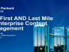 Closing the gap between the first & last mile of defensible retention management
