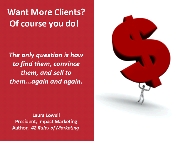 Want more clients?