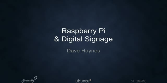 Digital Signage Meets IoT: building success with a Raspberry Pi!