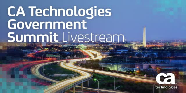 CA Technologies Government Summit - Keynote