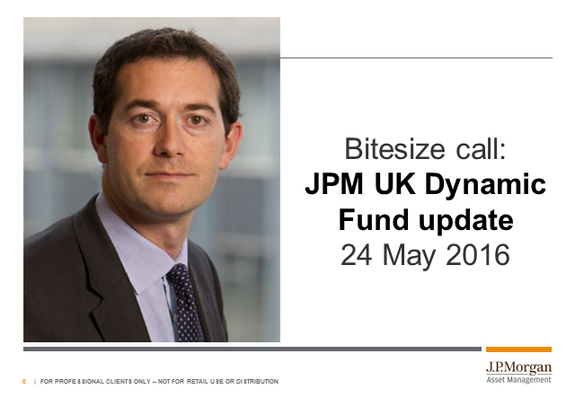 Bitesize update: JPM UK Dynamic Fund