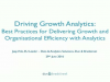 Driving Growth with Analytics