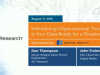 Maintaining Organizational Trust in IT: Is Your Data Ready for a Disaster?