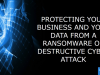 Protecting Your Business and Your Data from a Cyber Attack