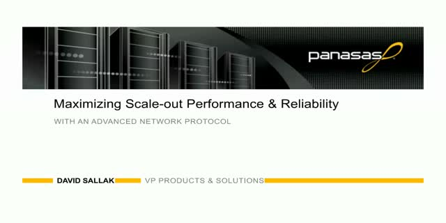 Maximizing Scale-Out Performance & Reliability With the Right Network Protocol