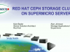 Designing Red Hat Ceph Storage Clusters on Supermicro Servers