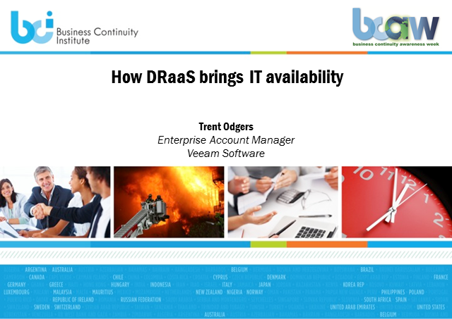 How DRaaS brings IT availability