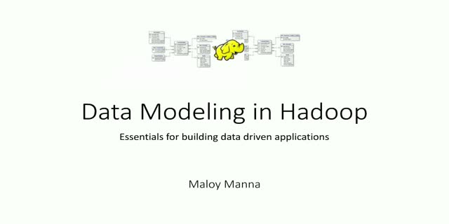 Data Modeling in Hadoop