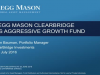 Legg Mason ClearBridge US Aggressive Growth Fund
