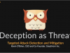 Deception as Threat: Targeted Attack Detection and Mitigation