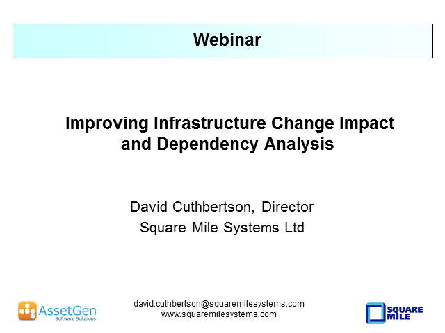 Improving Infrastructure Change Impact and Dependency Analysis