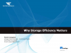 Why Storage Efficiency Matters in the Big Picture