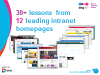 30+ Lessons from 12 Leading Intranet Homepages