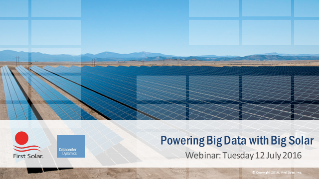 Powering Big Data with Big Solar