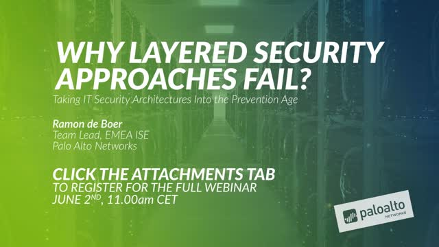 Preview: Why Layered Security Approaches Fail?