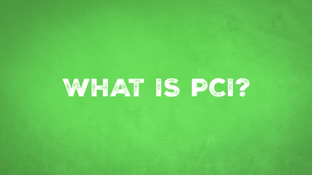 Risk Factory: What is PCI?