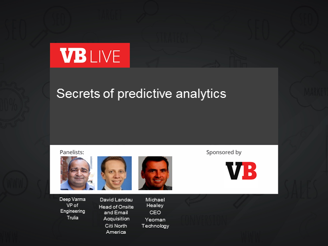 Secrets of predictive analytics