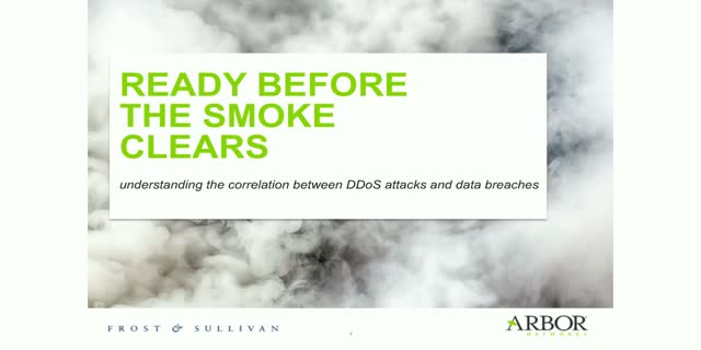Ready Before the Smoke Clears: understanding the correlation between DDoS attack
