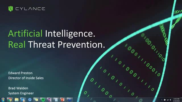 May 19th 2016 - PROTECT Webcast