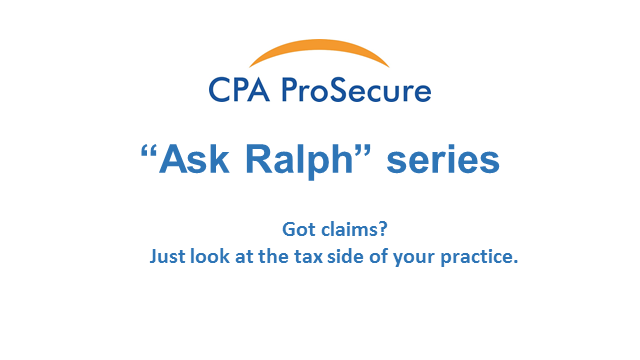 Got claims? Just look at the tax side of your practice.