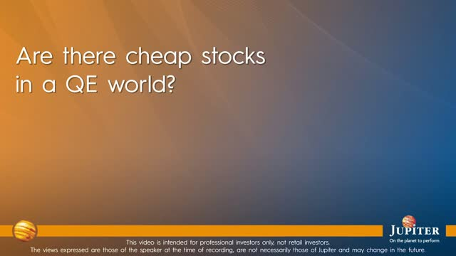 Are there cheap stocks in a QE world?