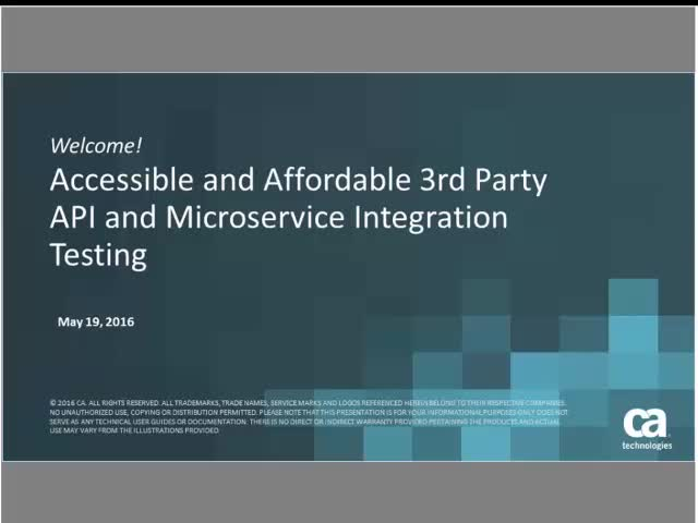 Accessible and Affordable 3rd Party API and Microservice Integration Testing