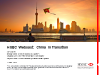 HSBC Webcast: China in Transition