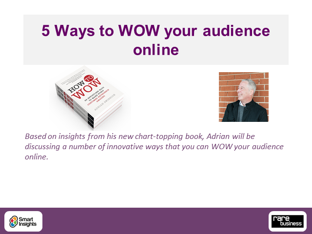 5 Ways to WOW your audience online