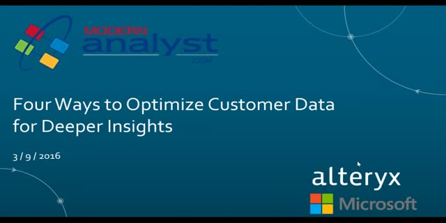Four Ways to Optimize Customer Data for Deeper Insights