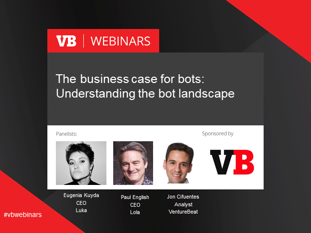 The business case for bots: Understanding the bot landscape