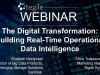 The Digital Transformation:  Building Real-Time Operational Data Intelligence We
