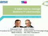 It takes two to manage Business-IT relationships