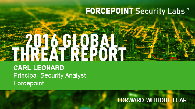 2016 Global Threat Report Webcast: What Your Board Needs to Know