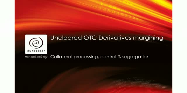 OTC derivatives: compliance at the right cost in the new global landscape