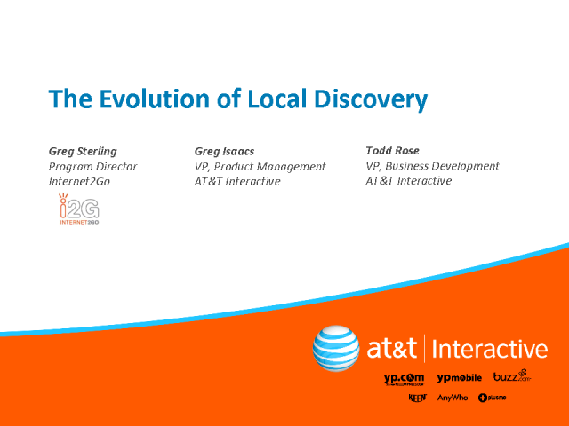 The Evolution of Local Discovery