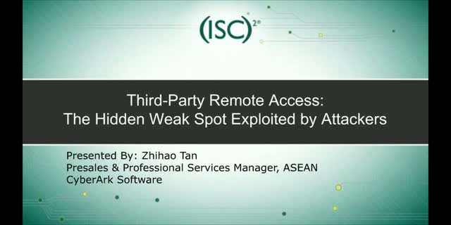 Third-Party Remote Access: The Hidden Weak Spot Exploited by Attackers