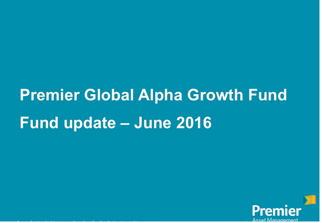 Premier Global Alpha Growth Fund - portfolio update